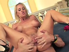 adorable stepmom tabitha gives blowjob well touching bud