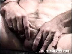 Mature Amateur Steve Beating Off
