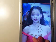 Rihanna Cum Tribute 3