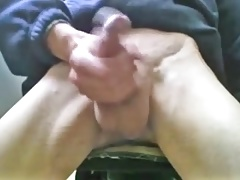 Guy stroking