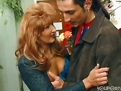 German florist gets banged in her store