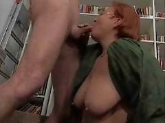 Mature BBW Librarian Getting Fucked