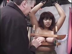 Nikki Satana BBW Bondage Scene