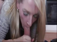 Quick Creamy Mouth Cumshot