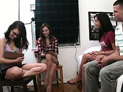 coed girls playing with dildo dick