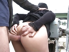 ROMANY IN OUTDOOR SEX