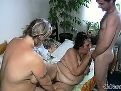 Dirty mature sluts get horny part3