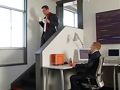 fuck in suit and black socks