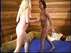 Nude Domination Catfight