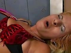 Sexy bitch gets anal fucked in elevator